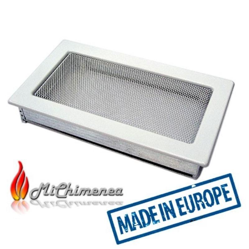 Rejilla de chimenea  30x17 Blanca