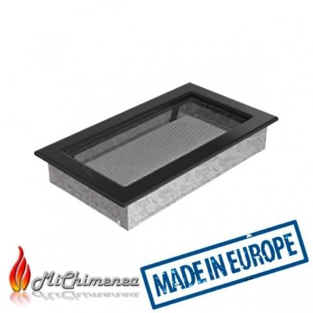 Rejilla de chimenea  30x17 negra