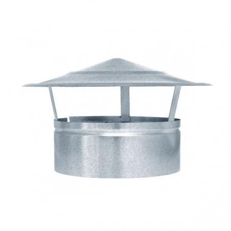 Sombrero fijo galvanizado
