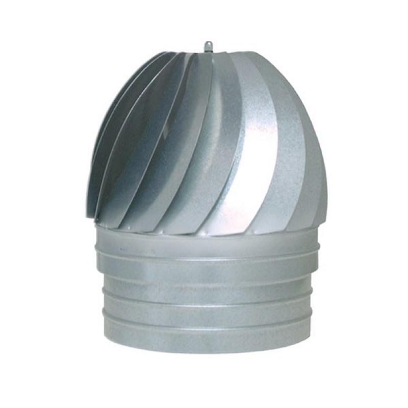 Sombrero aspirador  galvanizado