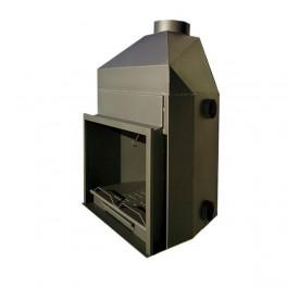 Hogar metálico K-100