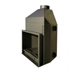 Hogar metálico K-120